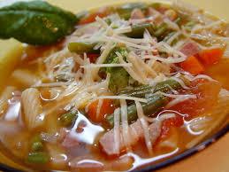 Суп мінестроне – рецепт італійського супу
