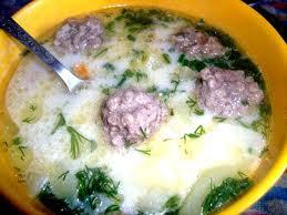 Рибний суп з фрикадельками з риби по-польськи