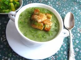 Суп з цибулі-порею з картоплею