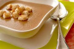 Суп-пюре з квасолі (заправлений)