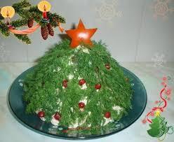 Новорічне Олів'є або як прикрасити салат Олів'є на Новий рік – ідеї з фото