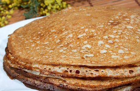 Тонкі млинці на кефірі – простий і смачний рецеп тонких млинців