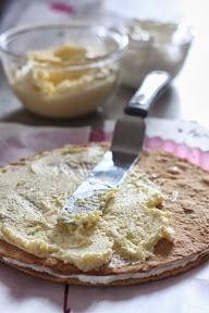 Масляний медовий крем для тортів, капкейків, еклерів