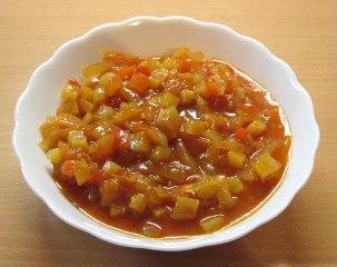 Кабачкові заготовки, смачний салат з кабачків і помідорів на зиму, рецепт приготування покроковий і дуже простий, з фото