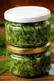 Снить (яглиця) – страви на зиму. Заготівля для супу з яглиці і зелені.