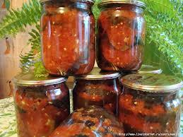 Баклажани по-молдавськи – оригінальний рецепт і дуже смачний салат з баклажанами на зиму.