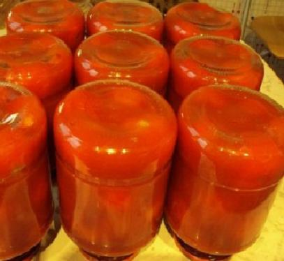 Смачні консервовані помідори у власному соку – простий рецепт заготовки як консервувати томати на зиму.