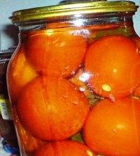 Помідори мариновані з медом на зиму – оригінальний рецепт заготовки томатів делікатесних в медовому маринаді.