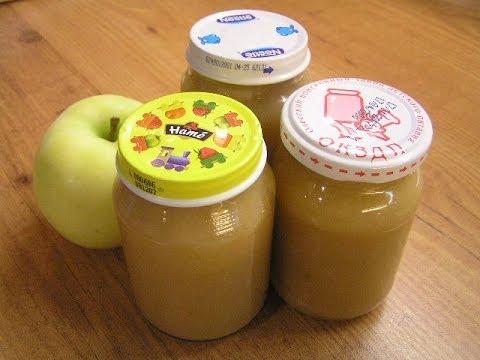 Яблучне пюре на зиму – як зробити пюре з яблук в домашніх умовах