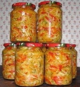 Салат з капустою, яблуками і овочами без оцту – як заготовити салат на зиму смачно і просто.