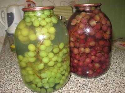 Компот з винограду – корисний домашній рецепт на зиму. Як варити компот з винограду смачно і просто.