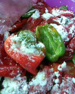 Солоний болгарський перець – рецепт як солити перець на зиму.