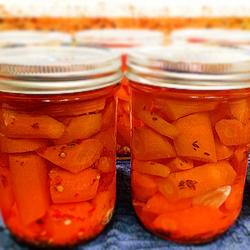 Маринована морква з цибулею на зиму – домашній рецепт заготовки з моркви.