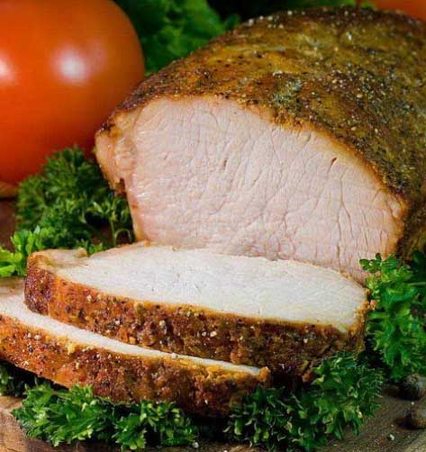 Як приготувати карбонад зі свинини або простий і смачний рецепт запеченої свинини.