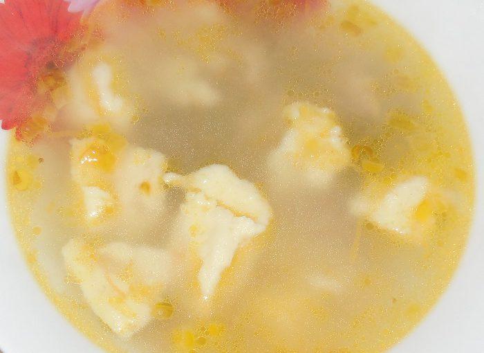 Як приготувати суп з галушками на м'ясному бульйоні