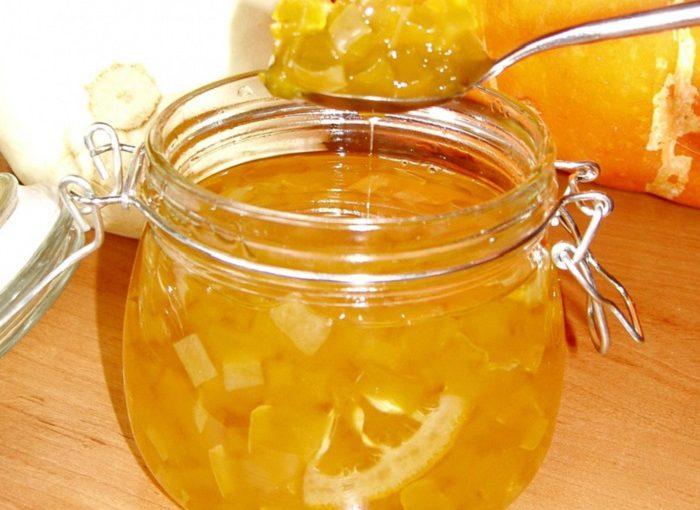 Варення з кабачків з лимоном або апельсином – як ананас