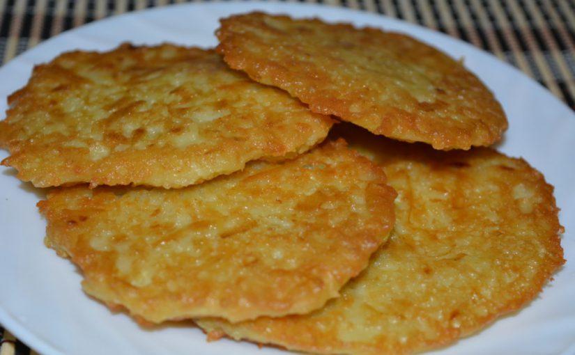 Смачні картопляні деруни з кабачком