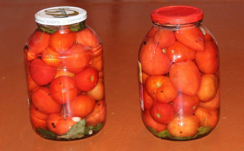 Маринуємо помідори без стерилізації