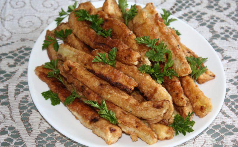Смачні кабачки в клярі – оригінальна закуска з кабачків