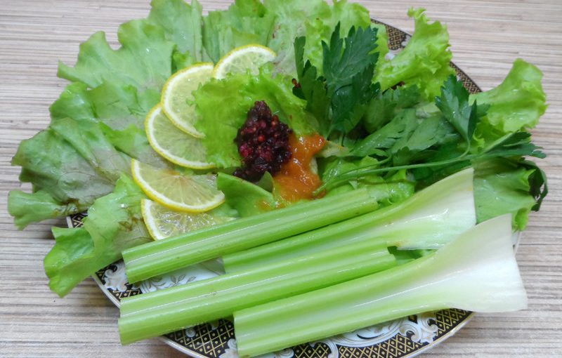 Дієта Шість пелюсток, меню на кожен день – овочевий день