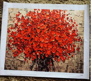 Картини-розмальовки за номерами – подарунок своїми руками на Новий рік