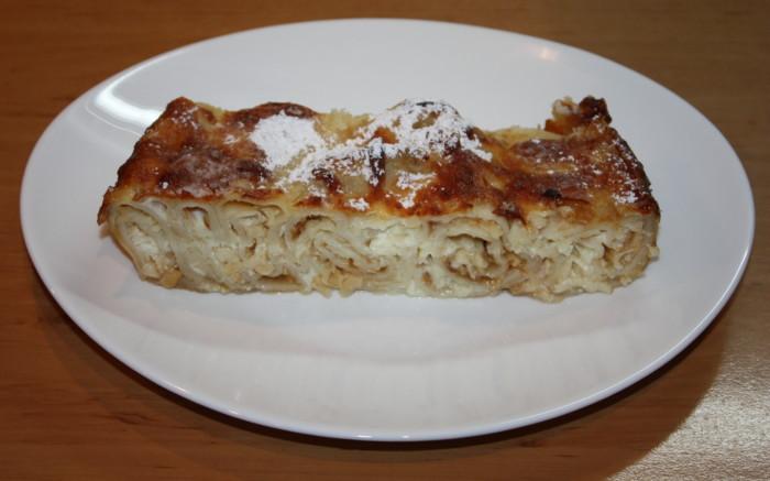 Млинцевий пиріг з сиром фета