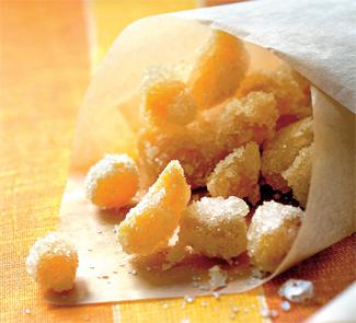 Цукати з імбиру в домашніх умовах: 5 рецептів приготування імбирних цукатів