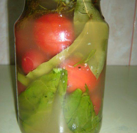 Консервовані газовані помідори на зиму