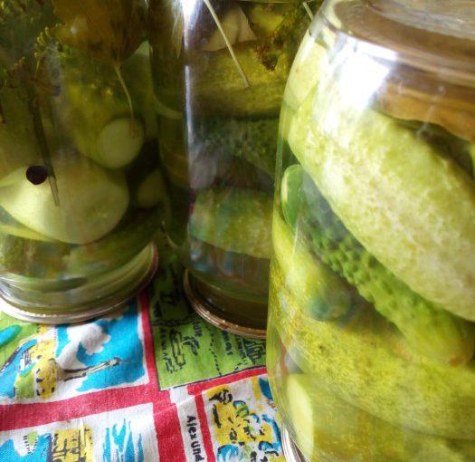 Хрусткі консервовані огірки без оцту – смачні та корисні