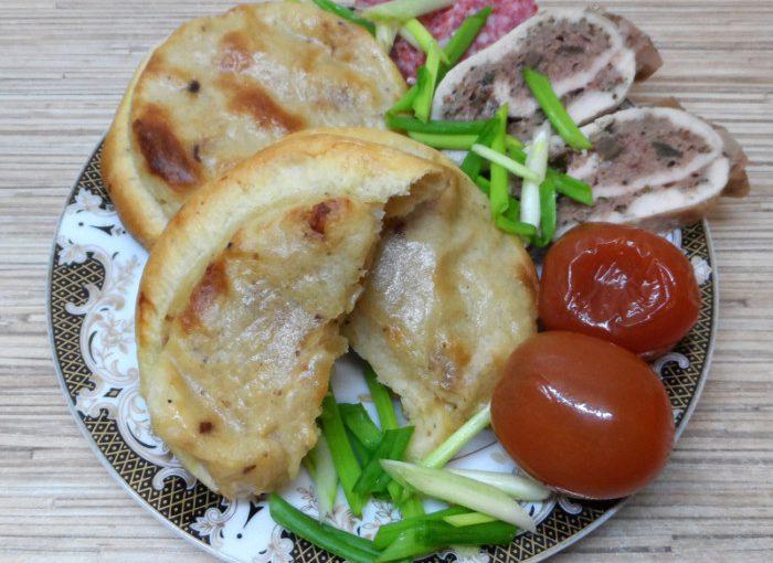 Сибірські шаньги з картоплею