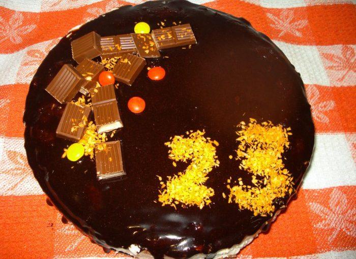 Шоколадний торт Пташине молоко з желатином – дуже смачний та простий