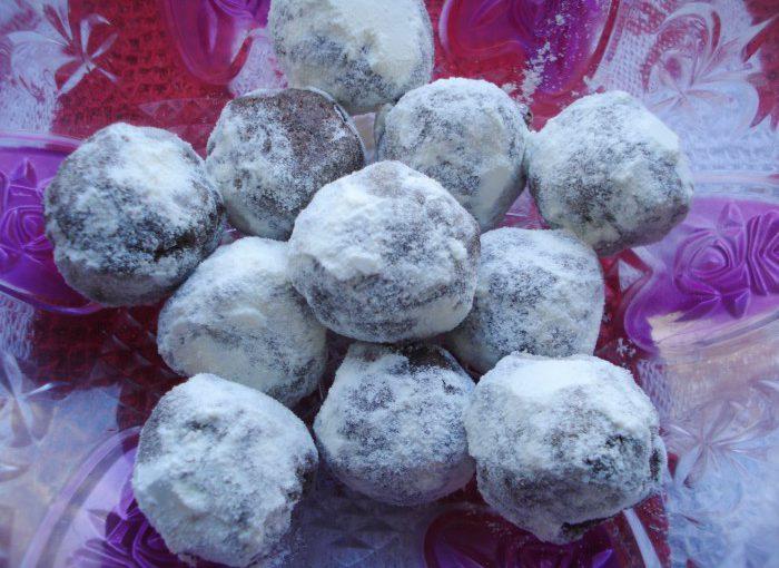 Трюфельні шоколадні цукерки з дитячої суміші або сухого молока