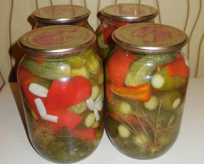 Мариновані огірки з перцем та лимонною кислотою – рецепт заготовки на зиму