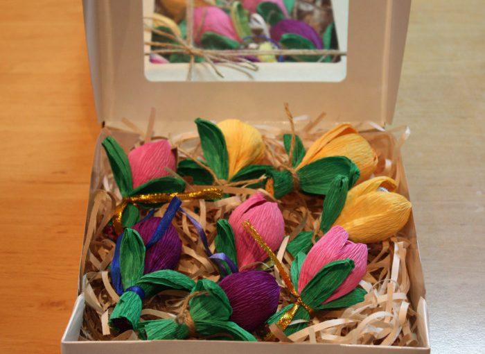 Домашні цукерки трюфелі з шоколаду з вівсяним праліне