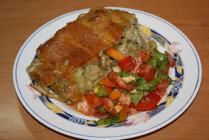 Запечена риба в рисовому клярі в духовці