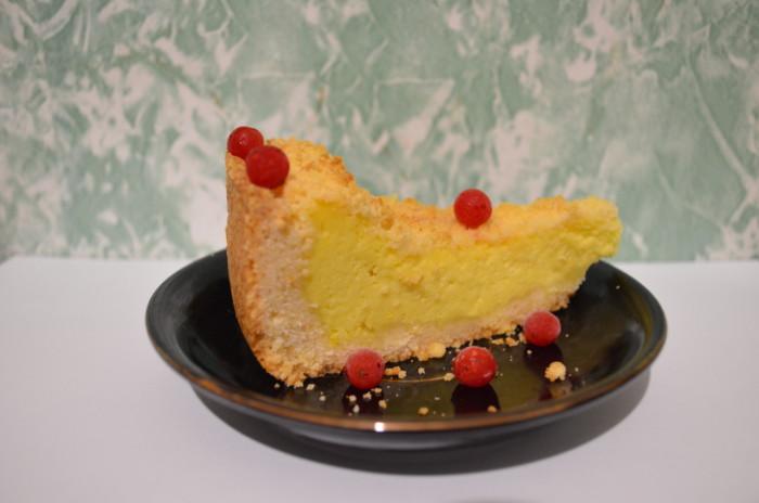 Пісочний пиріг з сиром або Царська ватрушка