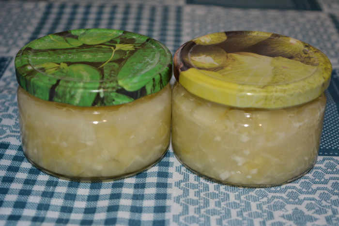 Заготовка для розсольнику зі свіжих огірків на зиму