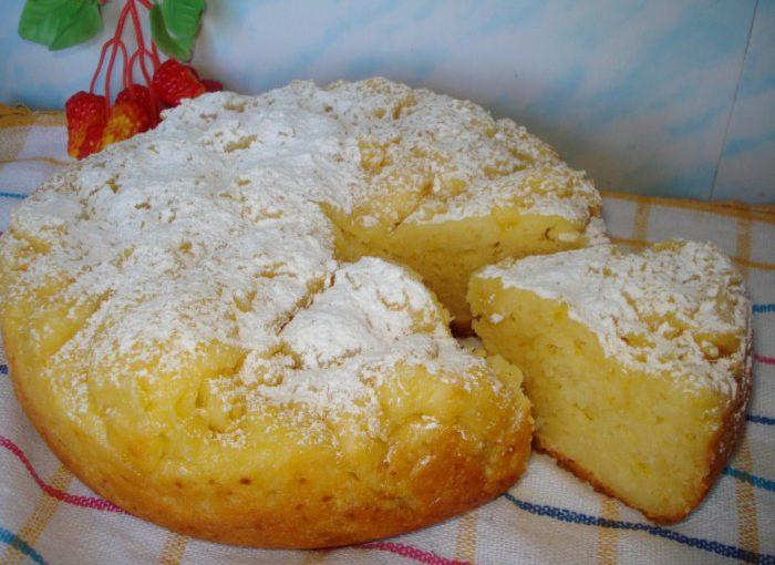 Смачний сирно-лимонний кекс в мультиварці