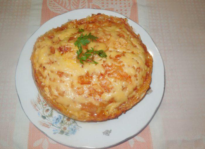 М'ясна лазанья з рисового паперу – смачна та оригінальна запіканка
