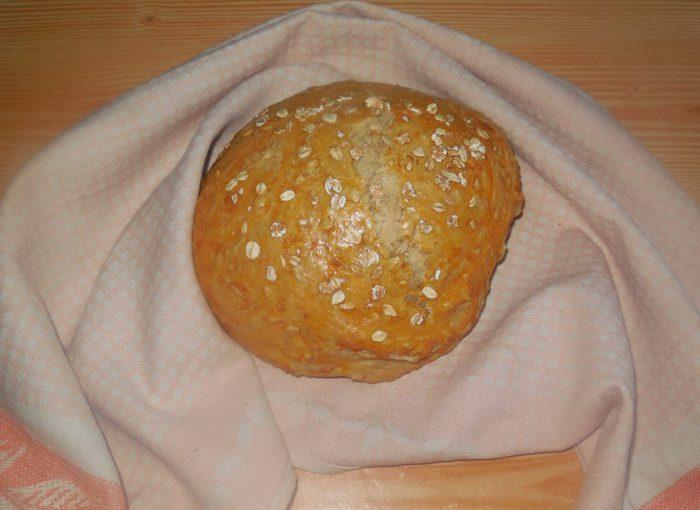 Домашній вівсяний хліб в духовці