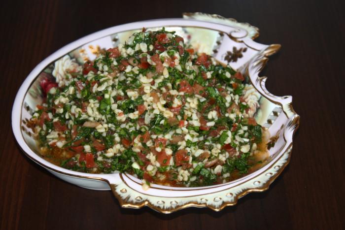 Арабський салат Табуле з булгуром