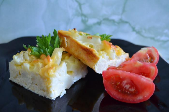 Цвітна капуста в духовці з сиром і яйцем – смачна запіканка з цвітної капусти