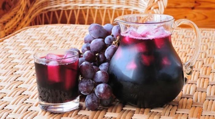 Виноградний сік з «Ізабелли» на зиму – 2 рецепта