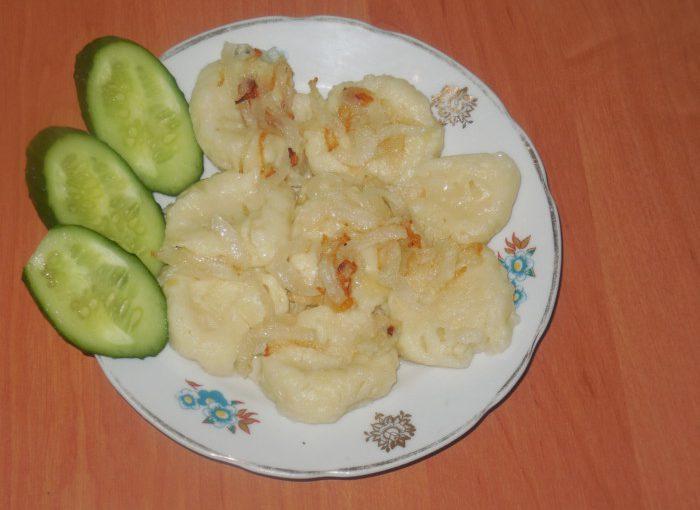 Ліниві вареники з картоплею або українські картопляні палюшки