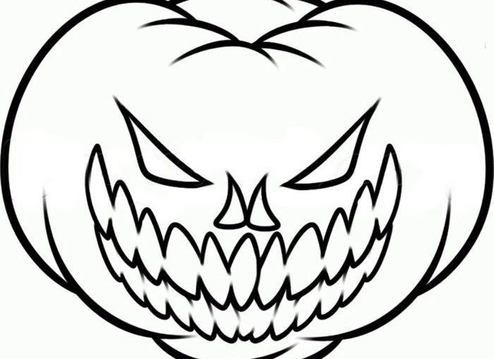Страшні розмальовки на Хелловін