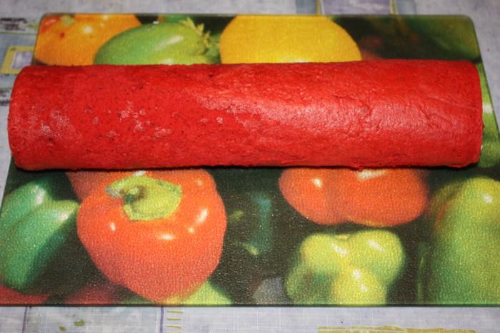 Бісквіт для рулету на кефірі та олії – тонкий еластичний бісквіт Червоний оксамит