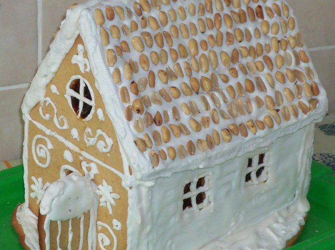 Імбирний пряниковий будиночок на Новий рік своїми руками