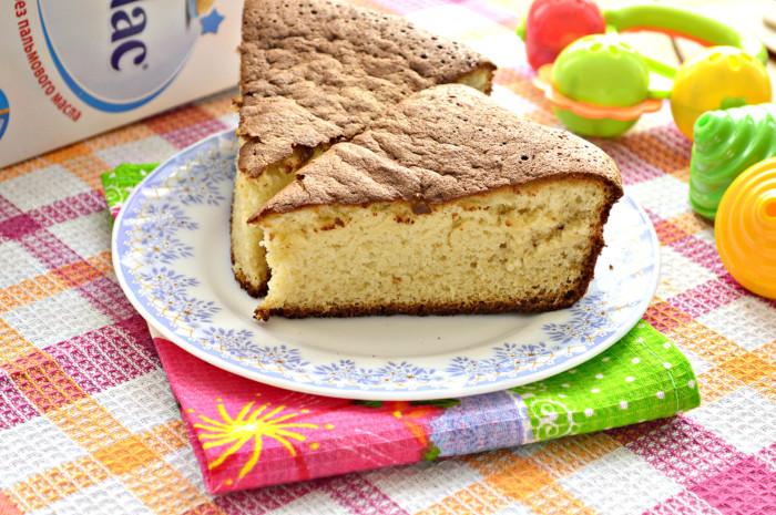 Пиріг з дитячої суміші до чаю – смачний, швидкий і простий