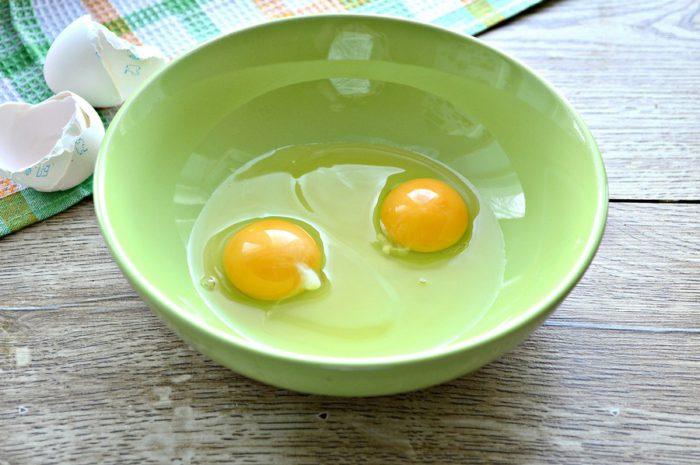 Яєчні млинці з крохмалем і майонезом