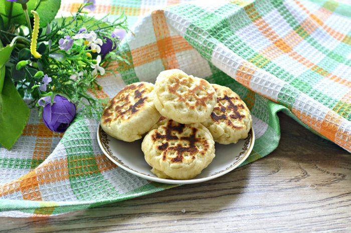 Смажене печиво на сковороді без форми